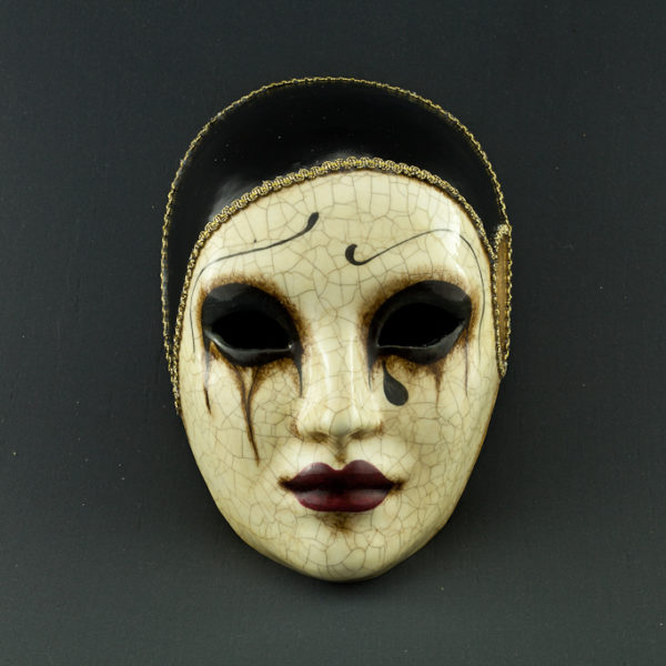 Pierrot Craquelé - Handmade Ve...