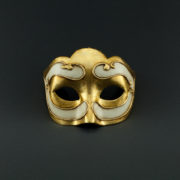 colombina little gold mask