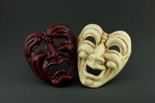 tragedia commedia rossa e craquelè