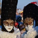 trio of masks