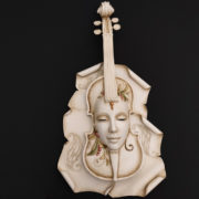 violin white
